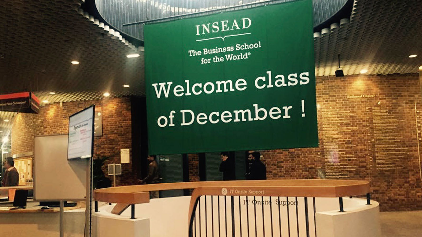 Am I InSEAD? Or a Sense of Belonging