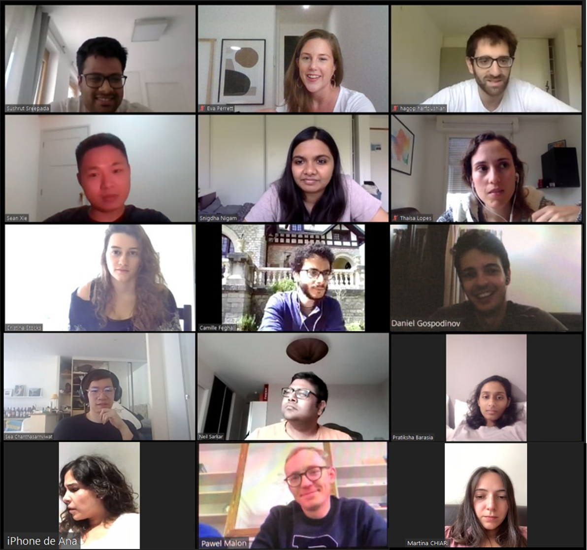 INSEAD 20J Section E1 reunion on Zoom (#Slyther1ns)