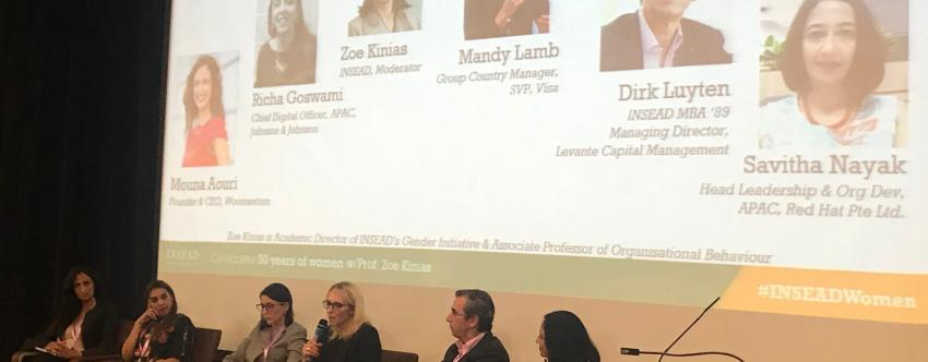 Leading, and Not Lagging, at the INSEAD Women in Business Conference
