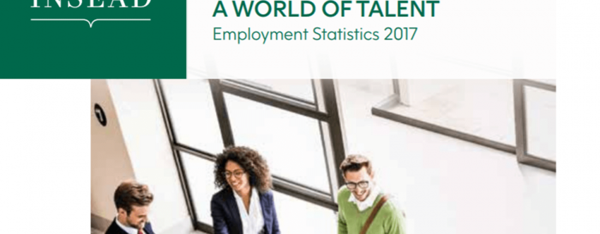 2017 Employment Statistics (December 2016 and July 2017 graduates); A World of Talent
